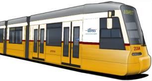 A Combino villamosok és a budapesti színek