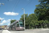 2004 nyarán tértek vissza a villamosok az ír fővárosba. (forrás: Tom Cosgrave)
