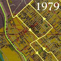 Vágányhálózat 1979-ben