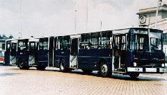 A prototípus 284-es a Récsei Garázs elött., Récsei Garázs, Budapest (forrás: Németh Zoltán Ádám gyűjteménye)