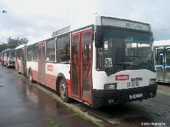 A prototípus 435-ös Salgótarjánban., buszállomás, Salgótarján (forrás: Könözsi Gábor)