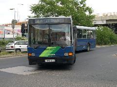 A BKV által beszerzett IK 435.06-os Kőbánya-Kispesten., Kőbánya-Kispest, Budapest (forrás: Istvánfi Péter)