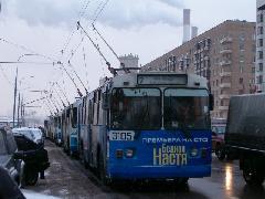 Az új metróvonal átadása után kevesebbet kell majd a dugókban tölteniük a moszkvai lakosoknak., Moszkva (forrás: Vonnák Attila)