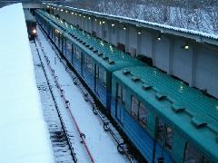 Felszíni metróállomás Moszkvában., Moszkva (forrás: Vonnák Attila)