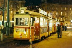 UV szerelvény áll a Baross téren, a 44-es megszüntetése elött pár nappal., Baross tér, Budapest (forrás: VEKE)