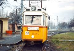 Az utolsó 44-es indul a végállomásról., Rákospatak utca, Budapest (forrás: VEKE)