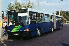 A félreérthető Reptér-busz elnevezés 200-as járatszámra változik., Kőbánya-Kispest, Budapest (forrás: Hajtó Bálint)