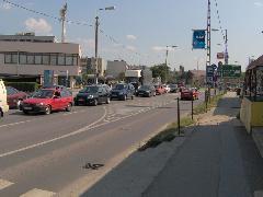 A Budai útnál a sor vége, Diósdi út, Érd (forrás: Friedl Ferenc)