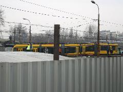 Lefelé a rámpán., Ferencváros kocsiszín, Budapest (forrás: Istvánfi Péter)