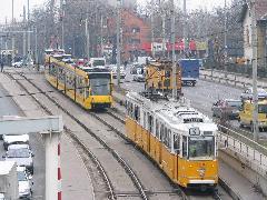 A hátvédre és a szervizautókra nem volt szükség., Hungária körút, Budapest (forrás: Hajtó Bálint)