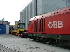 Az ÖBB egyik Herkulese rájár a szerelvényre. (forrás: Siemens)