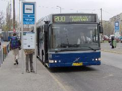 A 200-as járat Kőbánya-Kispesten, Kőbánya-Kispest, Budapest (forrás: Friedl Ferenc)