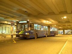 Az utolsó Reptér-busz, Ferihegy, Budapest (forrás: Istvánfi Péter)