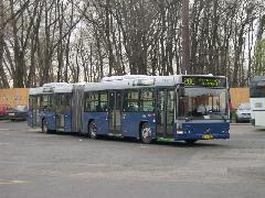 200-as busz pihenője Kőbánya-Kispesten, Kőbánya-Kispest, Budapest (forrás: Istvánfi Péter)
