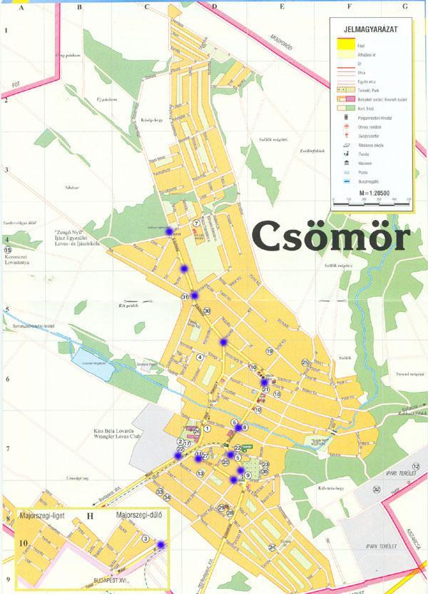 csömör térkép Változások a Csömör buszon | VEKE csömör térkép