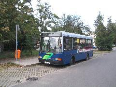 A 75-ös autóbusz vonalának nagy részéről csak átszállással érhető el az Örs vezér tere., Budapest (forrás: VEKE)