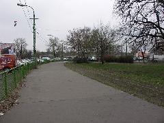 Az egykori leszállóhely 2006. tavaszán, Expo tér, Budapest (forrás: Müller Péter)