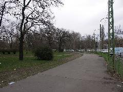 A villamosvégállomás területe 2006. tavaszán, Expo tér, Budapest (forrás: Müller Péter)