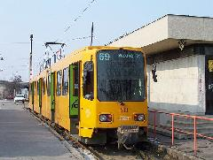 TW 6000-es a Mexikói úti végállomáson, Mexikói út, Budapest (forrás: VEKE)