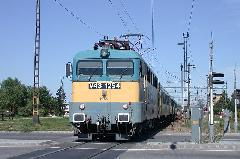 Személyvonat a Hatvan - Szolnok vasútvonalon -