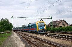 Irány a Keleti! Zónázó személyvonat Rákoshegyen, Rákoshegy, Budapest (forrás: Halász Péter)
