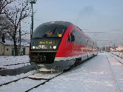 Desiro motorvonat Óbuda állomáson, Óbuda, Budapest (forrás: Halász Péter)