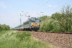 InterCity vonat a 120a vonalon - ez a kép már a múlté: a nyíregyházi IC-k ismét Cegléd felé járnak, Budapest (forrás: Halász Péter)