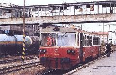 Autóbuszpótló vonat Pozsonyban