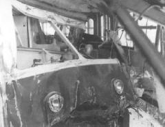 A 63-as csak hat évvel a baleset után állt újra forgalomba., Esze Tamás Iskola, Budapest (forrás: BKV)