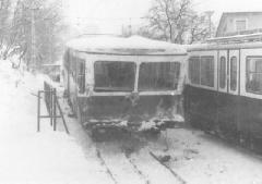 A tragédia a két járművezető életét követelte., Esze Tamás Iskola, Budapest (forrás: BKV)