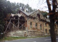 A régi végállomás nagyon rossz állapotban van, Zugliget, Budapest (forrás: Feld István Márton)