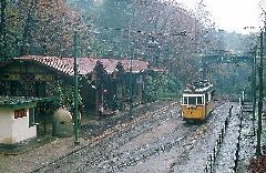 Amikor ez a gyönyörű kép elkészült, a villamosok már csak egy vágányon, a Budagyöngye és Zugliget között jártak, Zugliget, Budapest (forrás: Tim Boric)