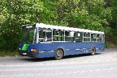 1976. január 17. óta az 58V, illetve a később 158-asra átszámozott autóbuszviszonylattal juthatunk el a neves budai kirándulóhelyre. A buszok csak a Libegőig közlekednek, ott fordulnak vissza a Moszkva tér felé, Zugliget, Libegő, Budapest (forrás: Halász Péter)