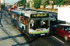 A 78-as busz Sasadi úttól meghirdetett garázsmenetei beolvadnak a 239-esbe., Sasadi út, Budapest (forrás: Hajtó Bálint)