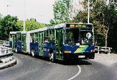 A 239-es jogelődje: a Bartók Béla út felújítása idején közlekedtetett Sasad-busz., Budapest (forrás: Hajtó Bálint)