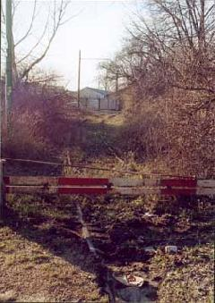 Az ERDÉRT iparvágányának maradványai a ráckevei HÉV vonalán, Budapest (forrás: Szelényi Gábor)
