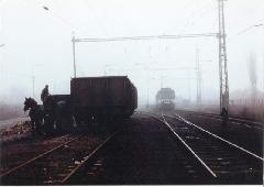 Farakodás Ráckeve állomáson, Ráckeve (forrás: Lakos Rudolf)