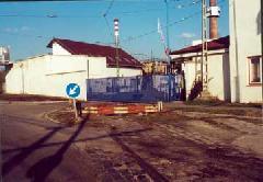 A Fedéllemezgyár (Ráckevei vonal) iparvágányának maradványai, Budapest (forrás: Szelényi Gábor)