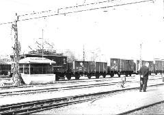 Filatorigát teherpályaudvar teljes üzem idején, Filatorigát, Budapest (forrás: NZA gyűjteménye)