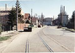 A nagyiccei iparvágány maradványai (Gödöllői vonal), Nagyicce, Budapest (forrás: Szelényi Gábor)