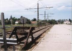 Hajdani iparvágány-kiágazás és rakodó Szentendrén, Szentendre (forrás: Szelényi Gábor)