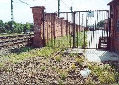 Az Óbudai Szeszgyár iparvágányának maradványai, Óbudai Szeszgyár, Budapest (forrás: Szelényi Gábor)