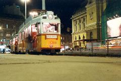 Villamos a Keleti pályaudvarnál. (forrás: VEKE)