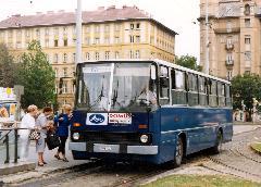 A 67V, még szóló busszal. (forrás: VEKE)