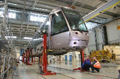 A Dublinba szállított Alstom villamosok is a Citadis családba tartoznak, Dublin (forrás: Alstom Transport)