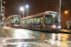 Évről évre egyre több utast szállítanak a szerelvények, Dublin (forrás: Alstom)