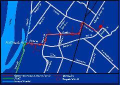 A lóvasúti hálózat térképe. (forrás: Kovács Ádám)