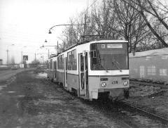 Iker Tátra a 10-es villamos Megyeri csárdánál lévő végállomásán. (forrás: Németh Zoltán Ádám gyűjteménye)