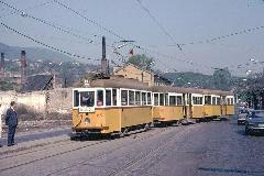 A 33-as villamos az óbudai végállomáson. (forrás: Heinz Heider)