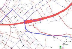 A forgalom átrendeződése  (forrás: http://www.transman.hu/Projektek/jelen_m2_hev_plus.pdf)